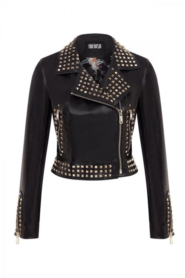 Kadın Siyah Kısa Ceket